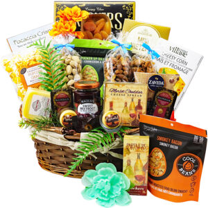 Gourmet Nuts Cheeses and Snacks