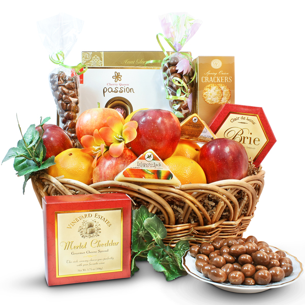 Fruits, Cheeses and Sweets gift
