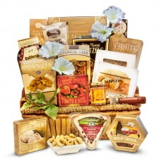 A Cut Above - Gourmet cheese basket Large