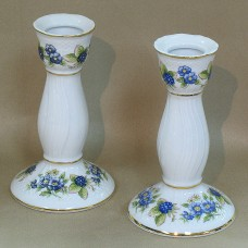 Blackberry Candle Holder Fine Porcelain Hollohaza