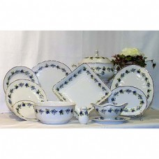 Blackberry Dinner Set Fine Porcelain Hollohaza