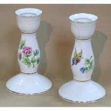 Hortenzia Candle Holder Fine Porcelain Hollohaza