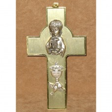 First Communion Girl Wall Cross