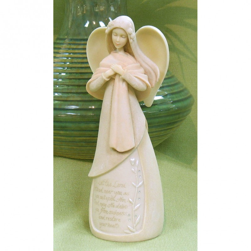 Let The Lord Healing Angel Figurine
