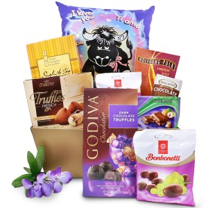 Love Notes Romantic Chocolate Gift Basket