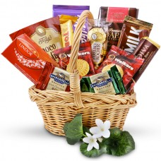 Assorted Chocolate Lover Gift Basket