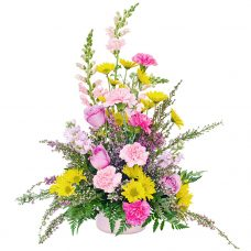 Gentle Tenderness Charming Flower Arrangement