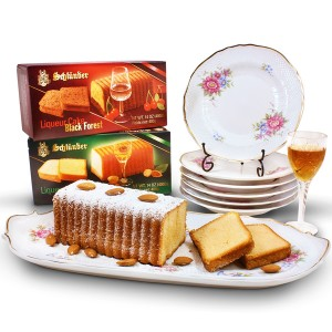 Gourmet Cakes on Porcelain cake Set