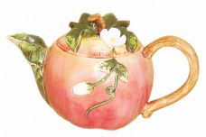 Decorative Teapot - Apple Blossom