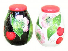 Decorative Salt and Pepper Shaker - Sweet Cherries