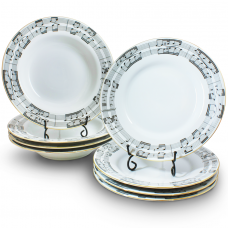 Symphony Dinner Set Fine Porcelain by Hollohaza
