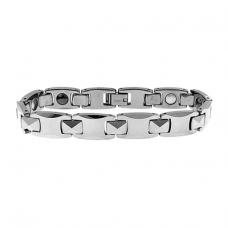 Stainless Steel Tungsten Magnetic Bracelet