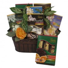 Sweet Indulgence - Nut Free gift basket-Large