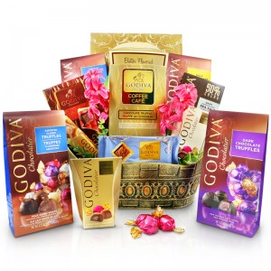 Celebration with Godiva Gift Basket - Chocolate gifts