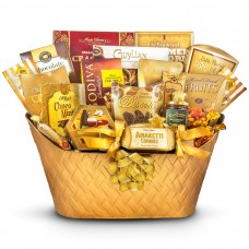 Golden Greeting-Lavishing Holiday Gift