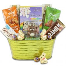 Easter Bunny Meadow Basket - Children Gift Basket