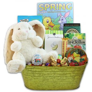 Lopsie Wopsie's Easter Gift Pail - Bunny, Chocolates, Treats