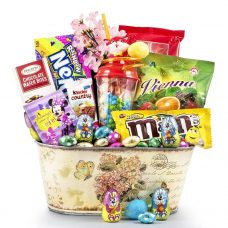 Easter Celebration Candy Galore - Chocolate Gift Basket