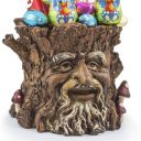 Tree Trunk Planter Easter Chocolate Treats - Easter Basket