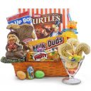 Pixie Dwarf's Chocolate & cookies Easter Gift Basket