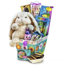Happy Easter Egg Hunt - Easter Chocolate Sweet Basket