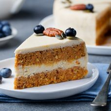 Gourmet Carrot Cream Cheese Cake