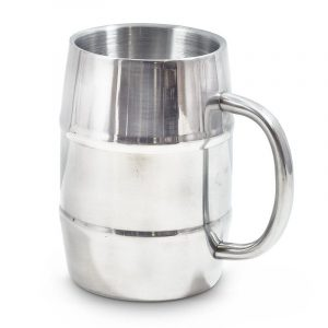 Stainless Steel Barrel Mug Double Wall - Gifts for Men