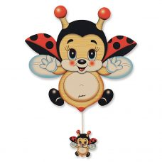 Flying Ladybird Table Music Box