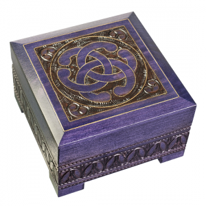 Celtic Knot Chest with Lock and Key