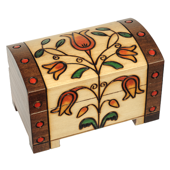 Romantic Trunk with Lock and Key
