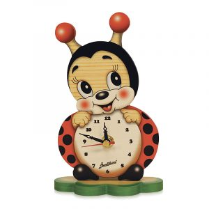 Ladybug Table Clock
