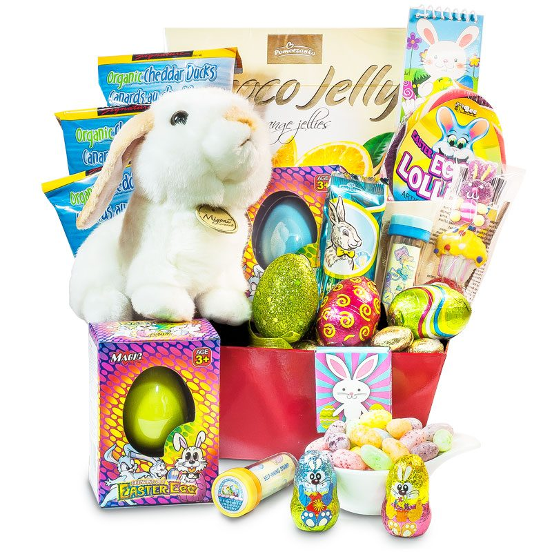 Happy Bunny Easter Gift Basket