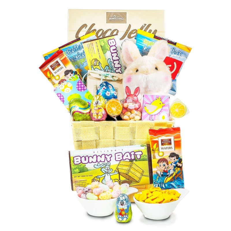 Bunny Bait Chocolate Easter Gift Basket