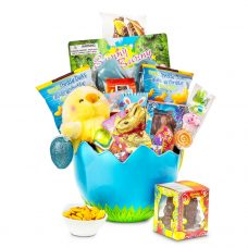 Egg Hatching Easter Chick Plush