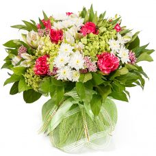 Delightful Garden Blossoms Bouquet Hand Delivered