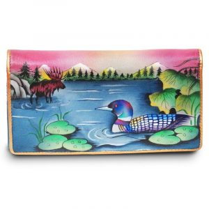 Canadian Escape Clutch Wallet with Accordion Pockets