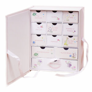 Baby's First Milestones Keepsake Box
