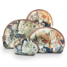 Tapestry Cosmetic Bags Cats