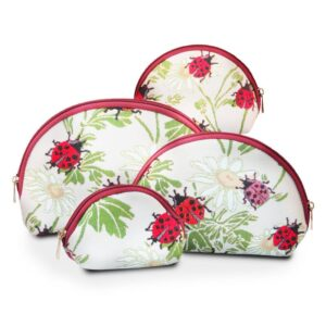 Tapestry Cosmetic Bags Ladybugs