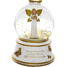 Heaven Bereavement Angel Globe