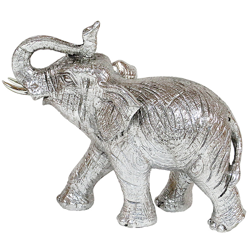 Elephant Walking Silver